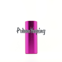 Aluminum Smooth Drip Shield  - Pink