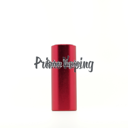 Aluminum Smooth Drip Shield  - Red