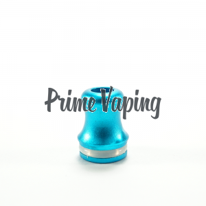 Aluminum Shorty Tip - Bright Blue