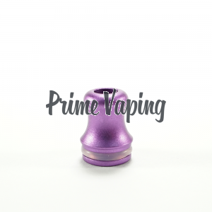 Aluminum Shorty Tip - Purple