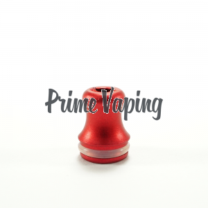 Aluminum Shorty Tip - Red