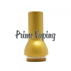 T2 Tank Aluminum Bubbly Drip Tip - Yellow Gold