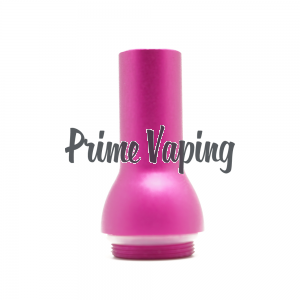 T2 Tank Aluminum Bubbly Drip Tip - Pink